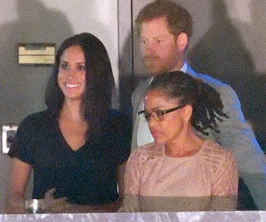 London bound: Meghan and mum Doria will move to be with Prince Harry