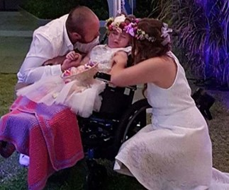Parents say 'I Do' to make dying daughter's dream come true