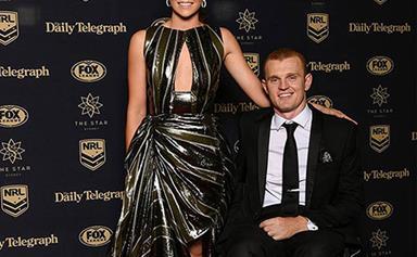 Alex McKinnon has married high school sweetheart Teigan Power, three years after horrific accident
