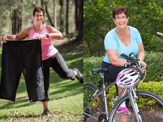 Grandmother loses 30kg after tragedy motivates a lifestyle transformation