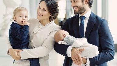 Sweden's Prince Carl Philip and Princess Sofia open up about life with two boys under two
