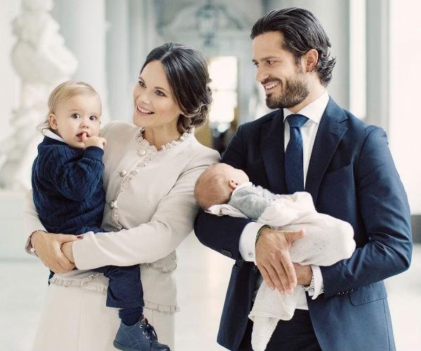 Prince Carl Philip, Princess Sofia, Prince Alexander, Prince Gabriel