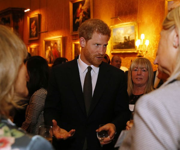 Prince Harry was also attended the event in honour of World Mental Health Day.