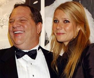 Harvey Weinstein and Gwyneth Paltrow