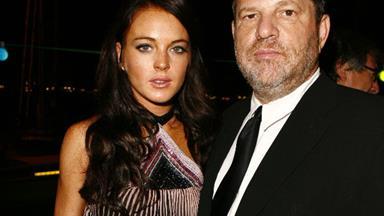 Lindsay Lohan defends Harvey Weinstein amid shocking sexual assault allegations