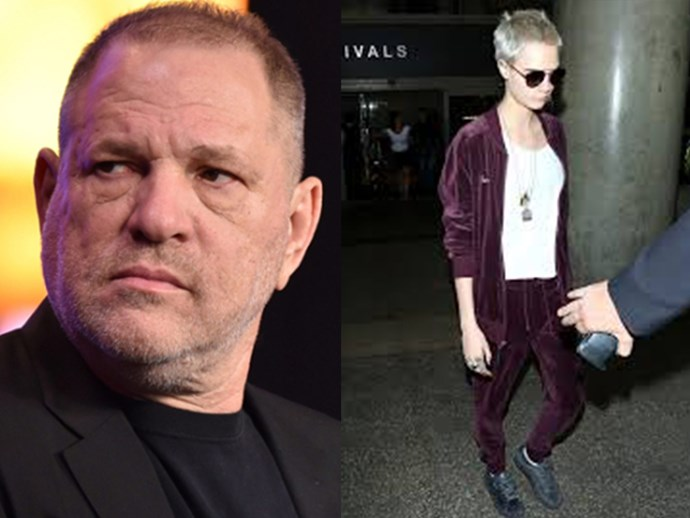 Harvey Weinstein told Cara Delevingne she'd never make it in Hollywood if she was gay