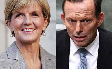 Julie Bishop socks it to former boss Tony Abbott for his climate change speech
