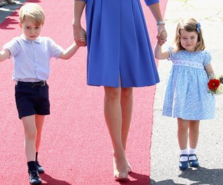 Princess Charlotte's following in her mum and brother's footsteps