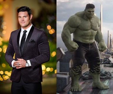 The Bachelorette's Apollo played the Hulk's body double in Thor