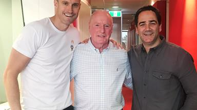 Flamin' heck! Home And Away's Ray Meagher just did a rap battle with Fitzy and Wippa