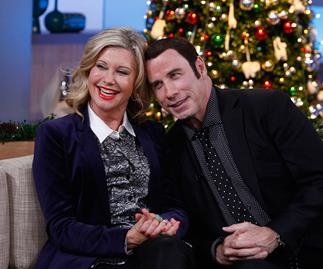 Olivia Newton-John and John Travolta friends