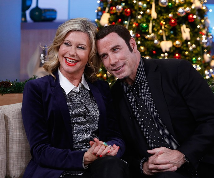 Olivia Newton-John and John Travolta friends