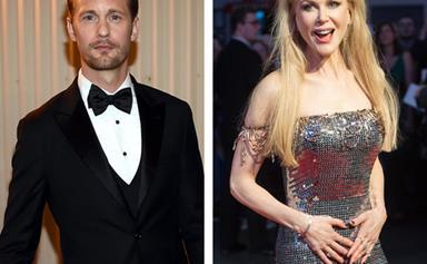 Nicole Kidman's hilarious explanation over THAT kiss with Alexander Skarsgard