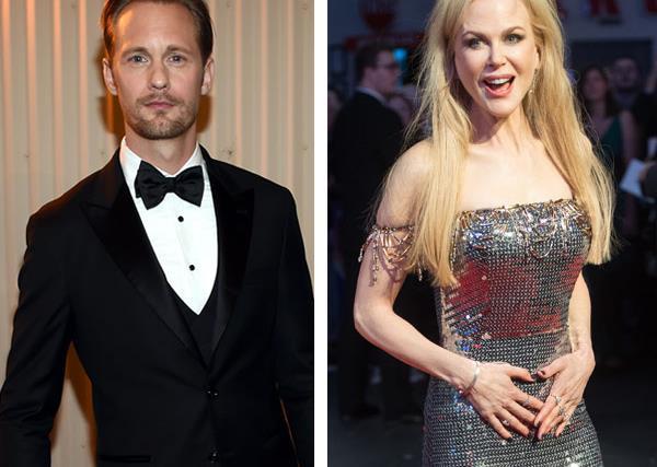 Nicole Kidman and Alexander Skarsgard