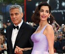 Amal Clooney's wedding dress appears in a stunning Oscar De La Renta exhibition