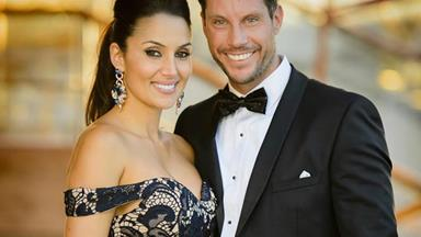 Baby parmigiana is baked! Bachelor stars Sam Wood and Snezana Markoski welcome their daughter