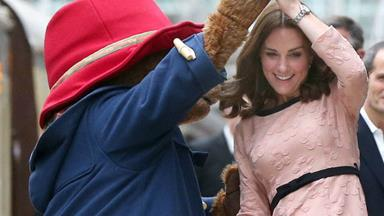 Duchess Catherine dancing with Paddington Bear is exactly what the world needs today