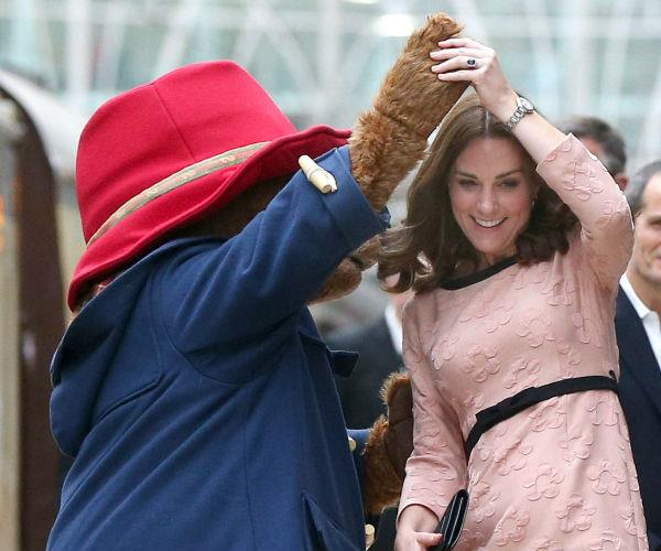Kate delighted fans this week with her impromptu dance with Paddington.