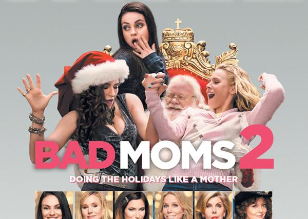 WIN! 1 of 65 double passes to see Bad Moms 2