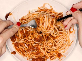 This is what single strand of spaghetti is actually called