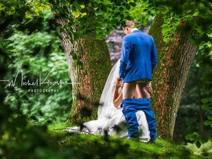 These are the tackiest wedding photo trends of 2017