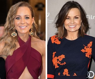 Carrie Bickmore and Lisa Wilkinson