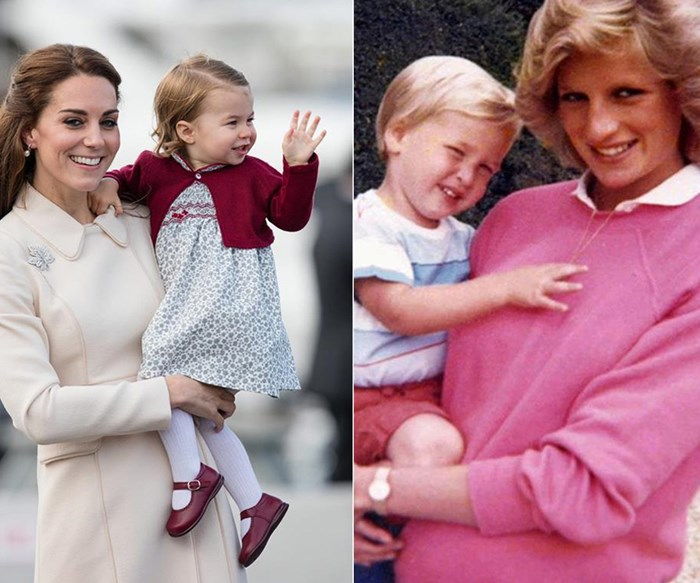 Duchess Catherine is 'inspired' by Princess Diana's down-to-earth mothering
