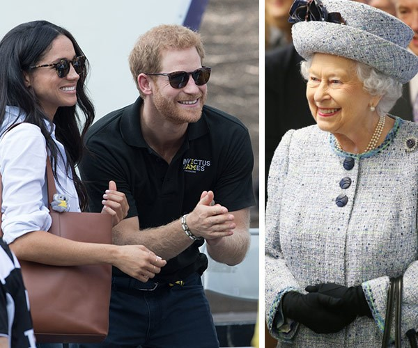 Prince Harry, Meghan Markle and The Queen