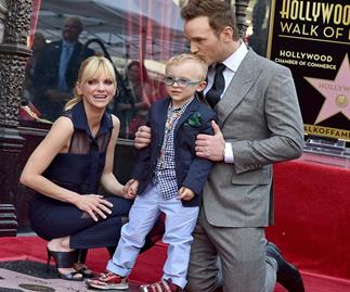 Anna Faris, Chriss Pratt and Jack Pratt