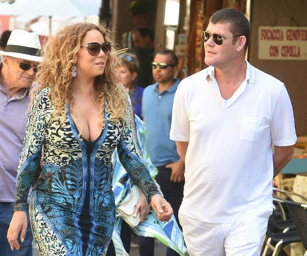 Mimi and the mogul took their love public in 2015, stepping out in Capri.