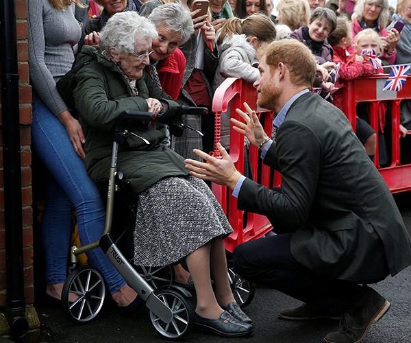 Prince Harry and Winnie Hodson