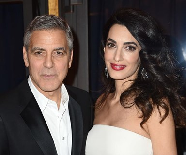 "George Clooney is officially the coolest dad ever, says he's teaching twins ""dirty tricks"""