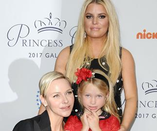 Jessica Simpson, Princess Charlene, Maxwell Drew Johnson