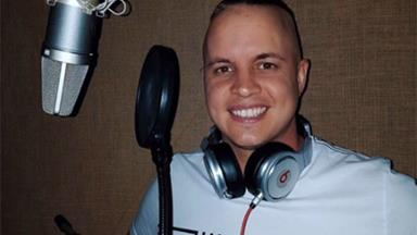 Johnny Ruffo is back at work following his brain cancer diagnosis