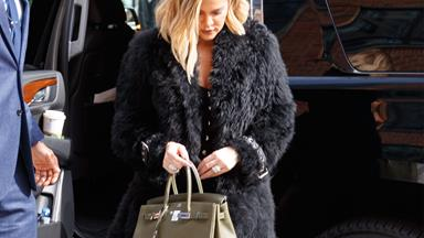 Brace yourselves! Here are the new photos of Khloe Kardashian and her baby bump
