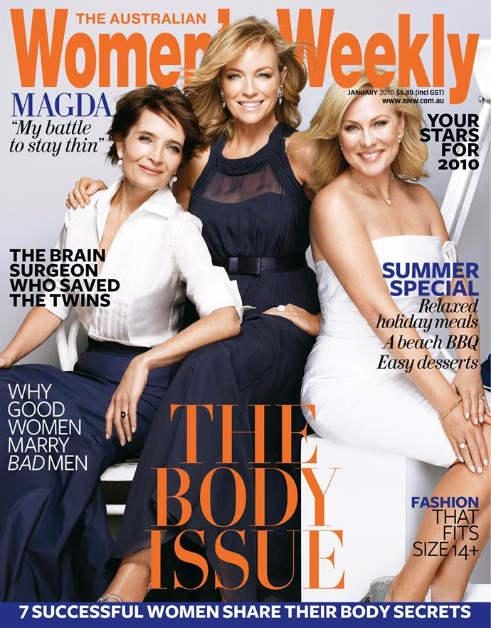 She graced the cover again in 2010.