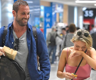 Home & Away's Sam Frost is all giggles with her summer babe Jake Ryan