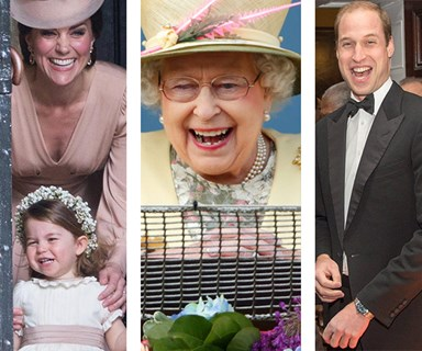 Letting their hair down! The British Royal Family's most candid moments