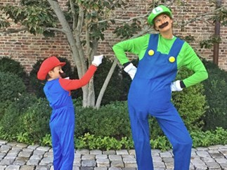 See your favourite celebrity families in their Halloween costumes
