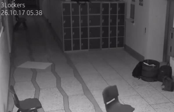 Ghost haunts Irish high school again