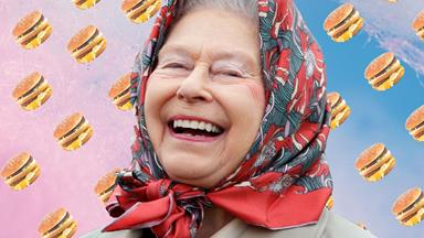 The Queen owns a McDonald's and we're McLovin' it