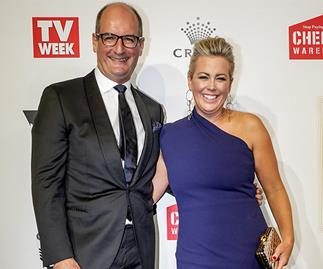 David Koch and Samantha Armytage