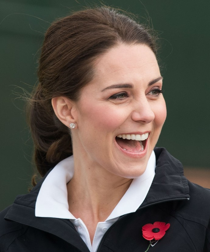 This week, Kate dropped by the the Lawn Tennis Association.