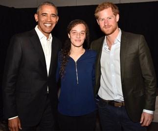 Prince Harry, Obama and Chantelle Stefanovic
