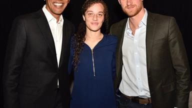 """I will always look up to my mother!"" Prince Harry bares everything at the Obama summit"