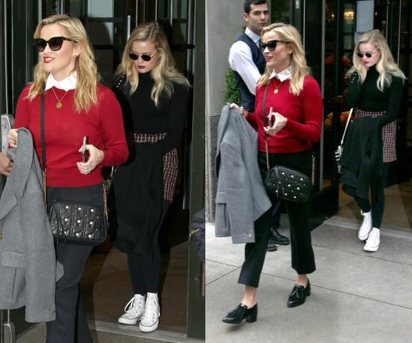 There's no one quite like Reese Witherspoon! Except of course her 18-year-old daughter Ava. The incredibly chic duo were recently pictured leaving their hotel for a mother-daughter date in New York City.