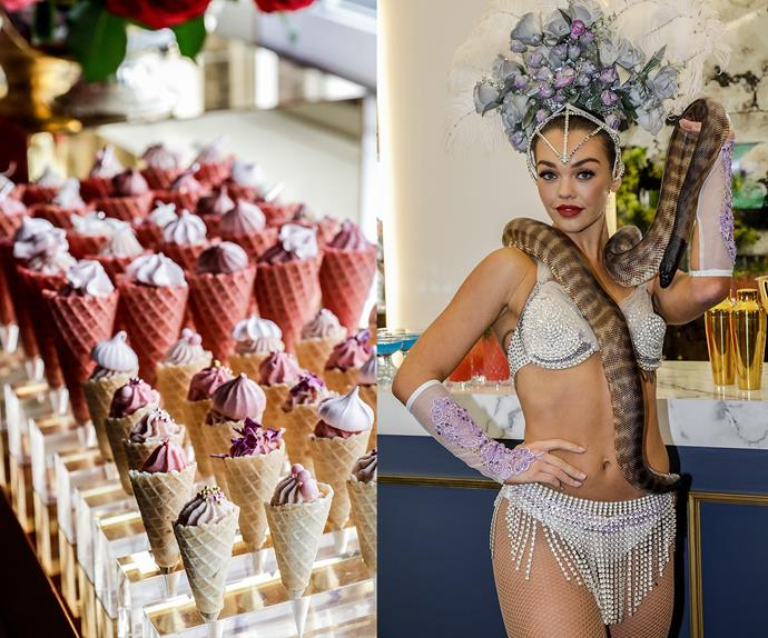 Birdcage marquees at Melbourne Cup 2017