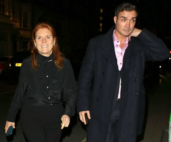 Sarah Ferguson has been pictured alongside her former flame Manuel Fernandez... and it's left fans dreaming of a romance reboot! The duo, who reportedly called it quits in March last year, were all smiles as they left celebrity haunt Claridge's in London.