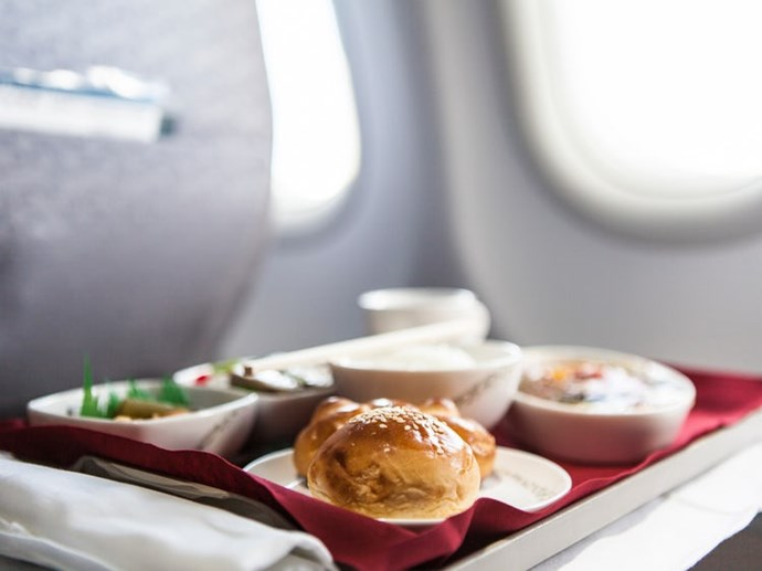 The best food to eat on an airplane, according to an airline's culinary director
