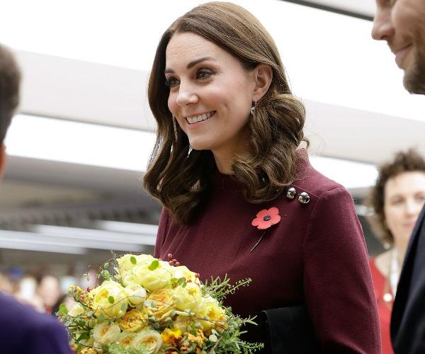 During the event, Kate took the time to speak to those involved with the wonderful charity.
